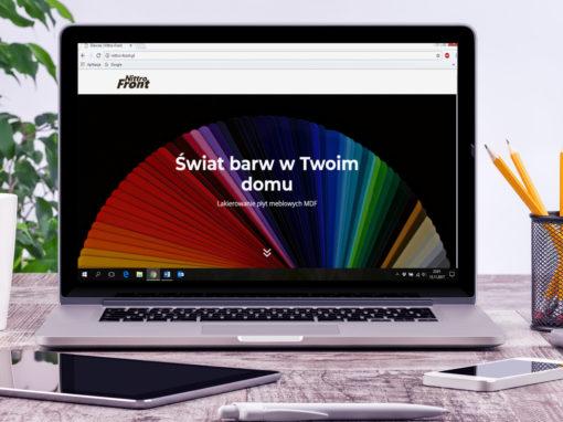 Strona internetowa Nittro Front